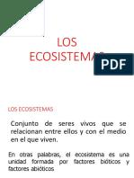 Ecosistemas PPT