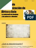 Descolonizacion de Africa y Asia