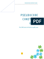 Pseudocode Guide