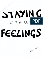 Staying With Feelings Zine