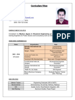 Resume- Gautam Gupta - Civil-Structural