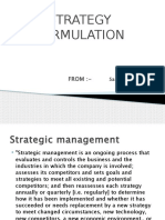 EStablishment of Strategic Intent1 Sandeep k