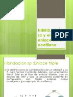 Hibidacion Sp -Quimica Organica
