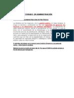 TEORIA DE LA ADMINISTRACIÓN ESTRATÉGICA
