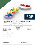 Assessment # 33 (P - I) Question Paper