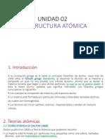 Unidad 02 Estructura Atómica