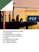 Clases de Administración de La Construcción. Tema Licitación y Contratación
