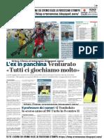 La Provincia Di Cremona 19-04-2019 - L'Ex In Panchina