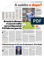 La Gazzetta Dello Sport 19-04-2019 - Serie B
