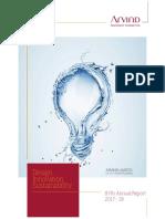 Arvind Accounts Annual Report 2017-18.pdf