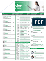 PriceList Schneider Electric JAN 2018 Issue V1