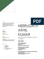 Akhil Resume