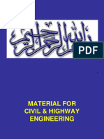 MATERIALS FOR HIGHWAY