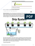 How to Build a Drip System Hydroponics _ Hydroponicplants