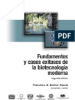 Fundamentos y Casos Exitosos de La Biotecnologia Moderna A
