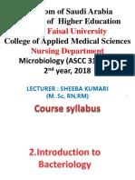 Week2 Bacteriology