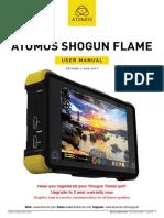 Shogun Flame User Manual