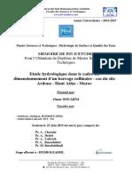 Etude hydrologique dans le cad - SOUABNI Omar_2802.pdf