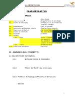 Plan Operativo UA Jorge CEDED