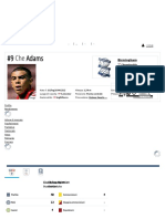 Che Adams - Profilo Giocatore 18_19 _ Transfermarkt