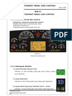 3. Instrument Panel Volvo Fmx 370