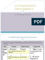 Chapter 5-Conditional Clauses Exercise
