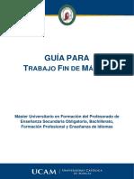 Guia Confeccion TFM 2018 19