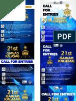 21st GK Poster Format
