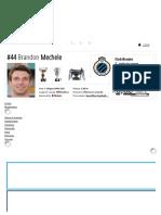 Brandon Mechele - Profilo Giocatore 18_19 _ Transfermarkt
