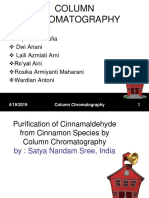 Coloum Chromatography