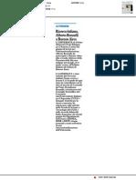Ricerca italiana Alberto Renzulli in Argentina - Il Resto del Carlino del 18 aprile 2019