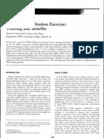 DOLNY, D.G.; REYES G.F.C., 2008. Whole Body Vibration Exercise Training and Benefits