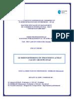 Le reengineering du processus achat cas du groupe ENAF.PDF