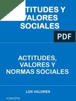 Actitudes y Valores Sociales