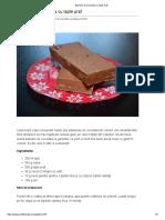 Batoane de Ciocolata Cu Lapte Praf