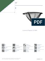 Luminaria Diametro 550 mm