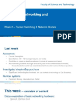 Packet Switching Networking Models