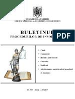 Buletinul Procedurilor de Insolventa nr. 5201 din 12.03.2019