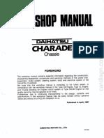Manual Daihatsu Charade 1.3 - Seção 1
