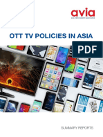 TV Policies in Asia