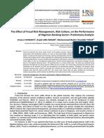 The Effect of Fraud Risk Management Risk