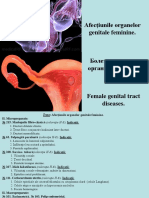 10. Afecțiunile Organelor Genitale Feminine