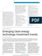 Emerging Clean Energy Technolo