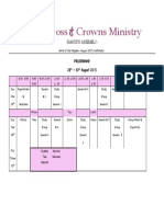 August Conference Program 2015