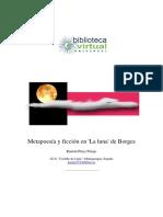 50. Metapoesía y Ficción en 'La Luna' de Borges - Pérez Parejo, Ramón