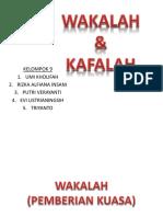 Ekonomi Syariah Wakaf dan Kafalah