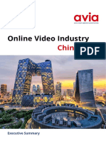 PUB Online Video Industry China Exec Summary 2018