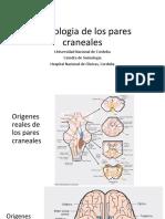Semiologia de Los Pares Craneales 2018