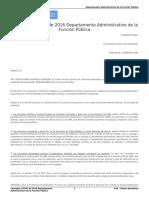 Concepto 174261 de 2016 Departamento Administrativo de La Función Pública