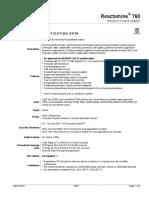 Reactamine 760 PDS-3